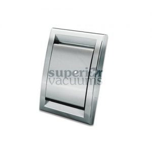 Cyclo Vac Inlet Valve, Square Door Chrome Deco