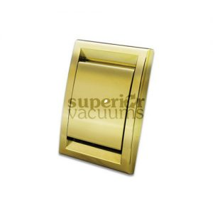 Cyclo Vac Inlet Valve, Square Door Gold Deco