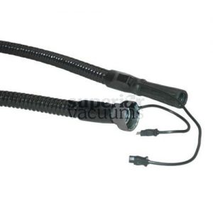 Filter Queen WIRE REINFORCED ELECTRIC Hose - BLACK