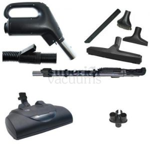 FILTER QUEEN POWER NOZZLE KIT - 360 BLACK/GREY