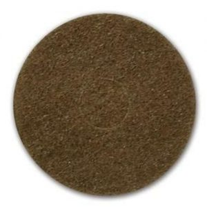 "Oreck 13"" Brown Stripping Pad"