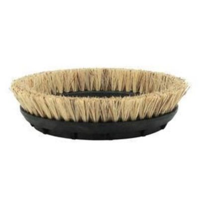 "Oreck 13"" Brown Polishing Brush"