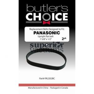 "Panasonic Belt Flat, 2 Pk Panasonic Type ""UB"" Upright Most Models"