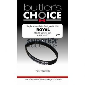 Royal Belt Flat, 2 Pk Royal Style 4 & 5