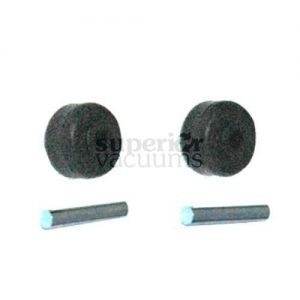Riccar Small Power Nozzle Front Wheel & Axle