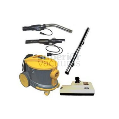 "Shop-Vac Canister Vacuum AS6 with 14"" Sebo Power Nozzle"