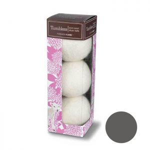 Forever New Pure Wool Tumblers Dryer Balls - Grey 3 Pk