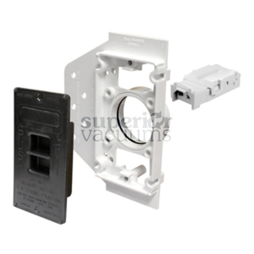 Central Vacuums Mounting Plate, Vaculine E-Box Roughin Electravalve