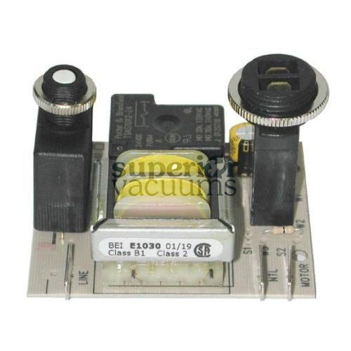 Central Vacuums Control Board, 15 Amp Stand Off