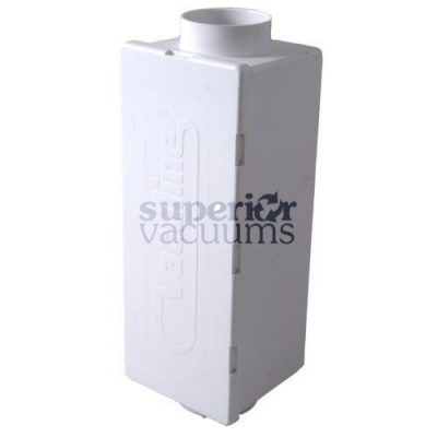 Central Vacuums Muffler, Exhaust Rectangular Vaculine
