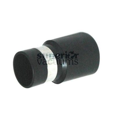 "Central Vacuums Inlet Cuff, 1 1/4"" Banded Black"