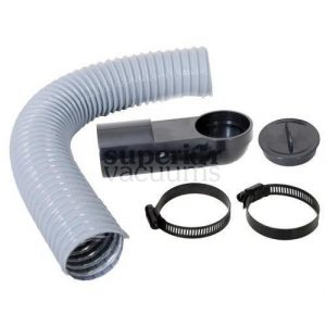 "Central Vacuums Vacpan Install Kit, With 30"" Flex Hose"