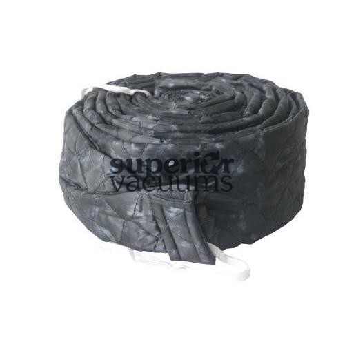 Central Vacuums Hose Cover, 30' Pad-A-Vac Padded Charcoal Grey Marble