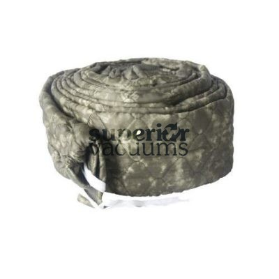 Central Vacuums Hose Cover, 30' Pad-A-Vac Padded Olive Green Marble