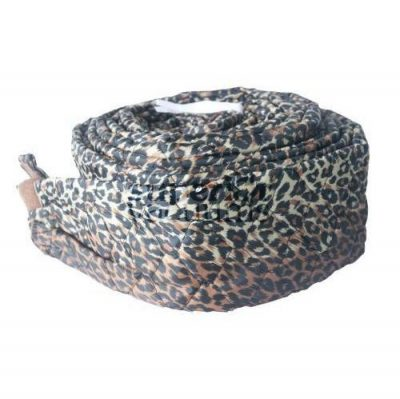 Central Vacuums Hose Cover, 30' Pad-A-Vac Padded Leopard Print