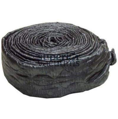 Central Vacuums Hose Cover, 35' Vac Soc Zippered Padded Silver (Platinum)