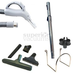 Central Vacuums Kit, Central Vacuum 24 Volt Hose And Attachments 30'