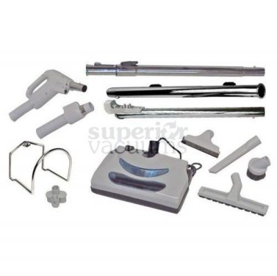 Central Vacuums Kit, Butlers Power Nozzle & 35 Ft Hose Direct Connect
