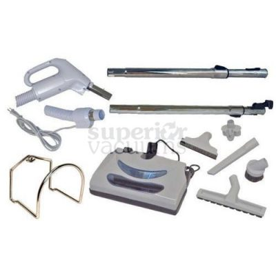 Central Vacuums Kit, Butlers Power Nozzle & 30 Ft Hose Corded