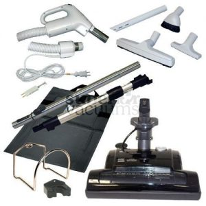 Central Vacuums Kit, Butlers Deluxe Power Nozzle & 35 Ft Hose Deluxe