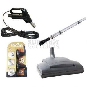 Central Vacuums Kit, Retractable Electric Wessel Ebk341 Power Nozzle