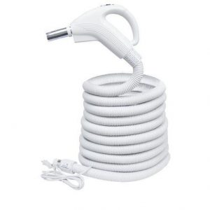 "Plastiflex Built-in & Central Vacuum Hose, 1 1/4"" X 35' 24/110 Volt Switch Valueflex"