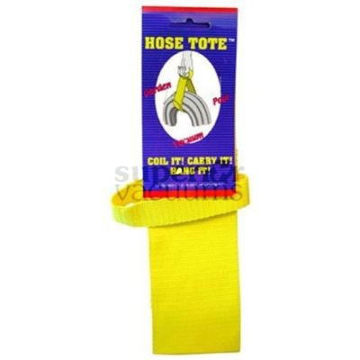 Central Vacuums Hose Tote, Carrying Strap Yellow