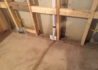 CENTRAL VAC ROUGH IN BASEBOARDS
