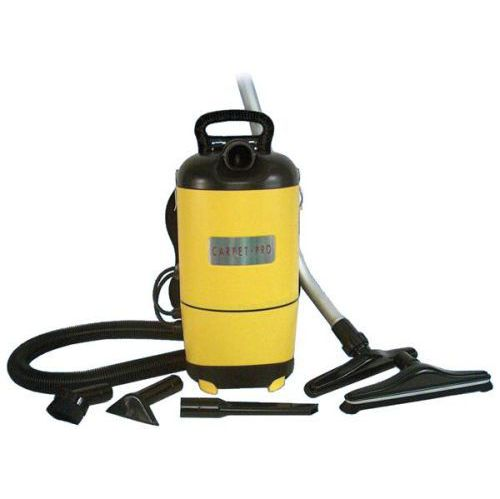 Carpet Pro Back Pack Vacuum, With Tools