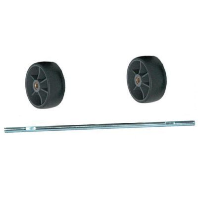 Carpet Pro Wheel, Assembly With Axle Rear