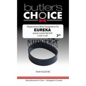 Eureka Belt Flat, 2 Pk Eureka, Sweep & Groom Power Nozzle
