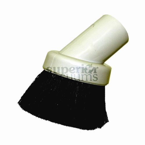 """Fitall Dusting Brush, 1 1/4"""" Natural Bristle Soft - Grey"""