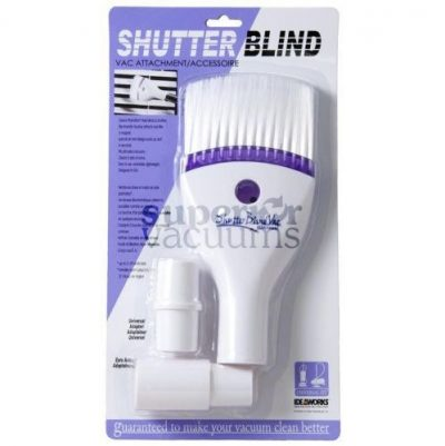 "Fitall Shutter / Blind Brush, 1 1/4"" - White"