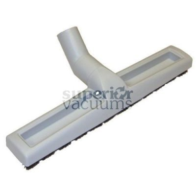 """Fitall Floor Tool, 1 1/4"""" X 14"""" With Wheels Natural Bristle - Grey"""