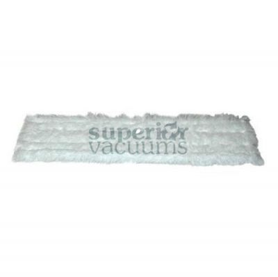 """Fitall Mop Pad, 18"""" White Duster Pad For Fa3500"""
