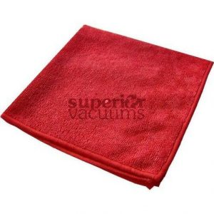 "Fitall Microfibre Cloth, 16"" X 16"" High Density - Red"