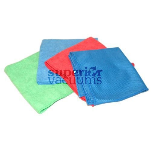 Fitall Microfibre Cloth, 4 Pk Assorted