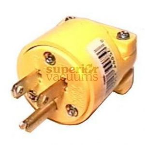 Fitall Plug, Fitall Male 3 Wire Yellow