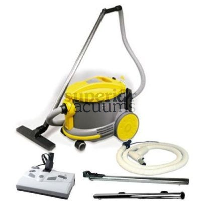 "Ghibli Canister Vacuum, Ghibli / Johnny Vac AS6 W/12"" LH & Sw"