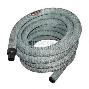 "Hide-A-Hose Hose, 1 1/4"" X 40' With Sock - Grey* Mini-Cuff"