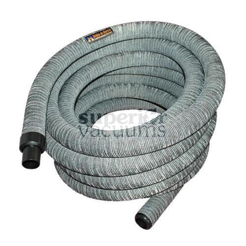"Hide-A-Hose Hose, 1 1/4"" X 50' With Sock - Grey *Mini-Cuff"