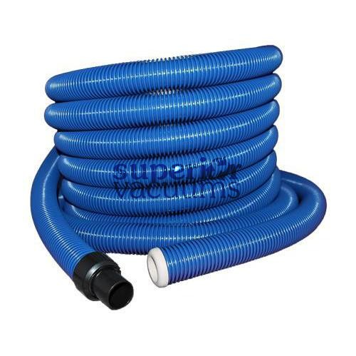 "Hide-A-Hose Rapid Flex Hose, 1 3/8"" X 50' - Blue *Mini-Cuff"