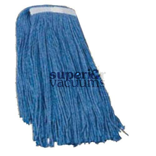 Janitorial Supplies Mop Head, 32 Oz Synthetic Blend Blue