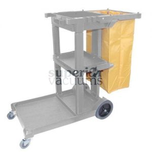 "Janitorial Supplies Cart Janitorial 44"" X 20"" 38"" Grey"