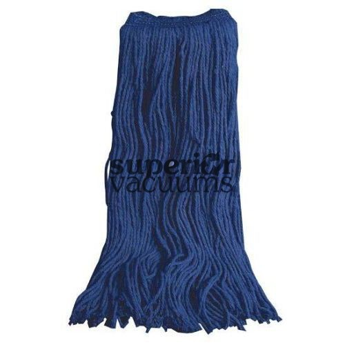 Janitorial Supplies Mop Head, 24Oz For Wet Mopping - Blue