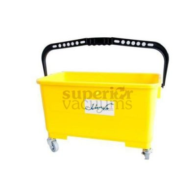 Janitorial Supplies Bucket, For Microfibre Wet Pad Yellow. Handles Pad Up To 18""