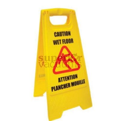 Janitorial Supplies Wet Floor Sign