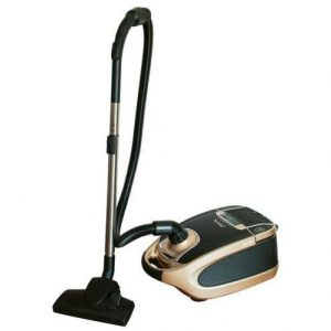 Johnny Vac Canister Vacuum, XV10 Xclusiv - Black