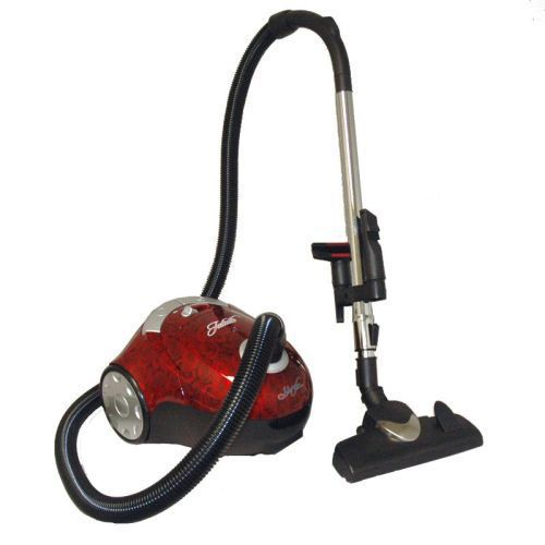 Johnny Vac Canister Vacuum, Juliette - Red