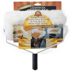 Lambswool Ceiling Fan Duster, With Telescopic Handle